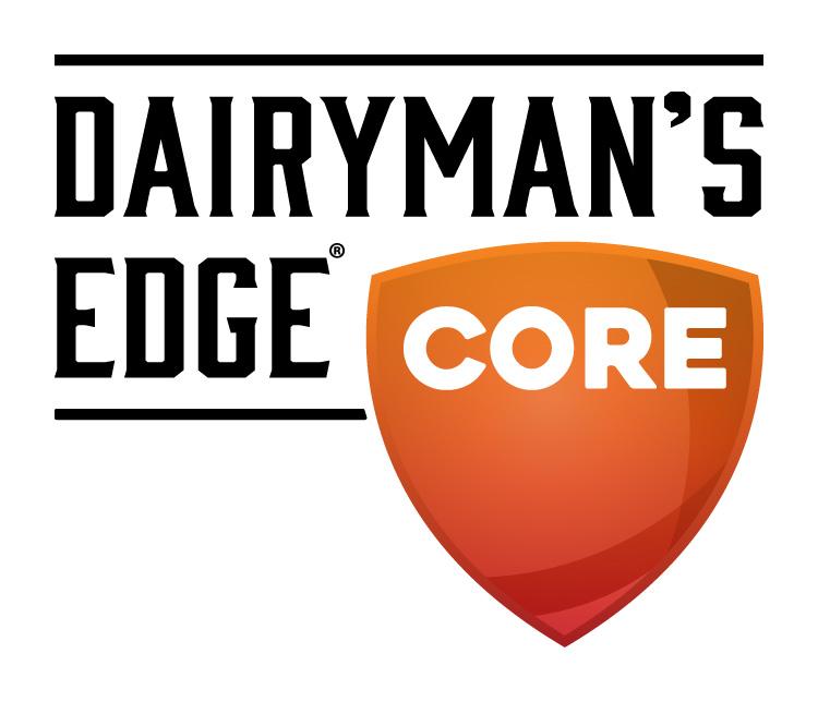 Dairyman's Edge Core Dairy Industry Logo Branding Corporate Identity Design