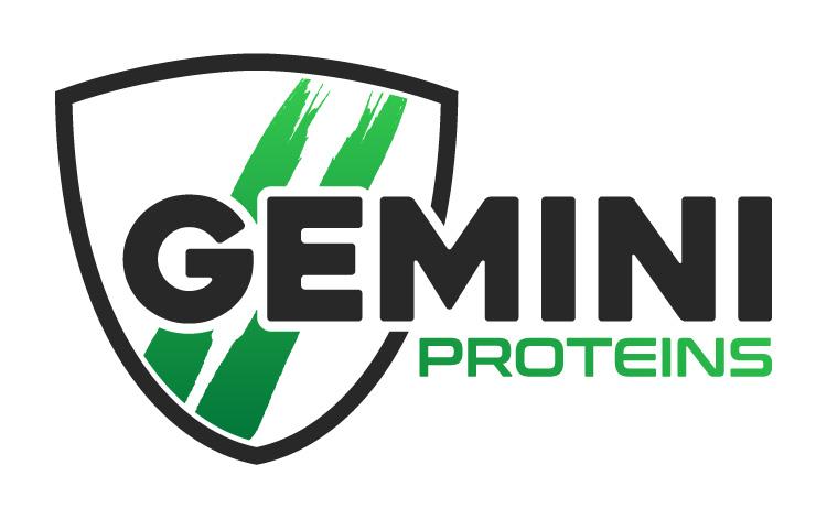 Gemini Proteins Dairy Industry Logo Branding Corporate Identity Design