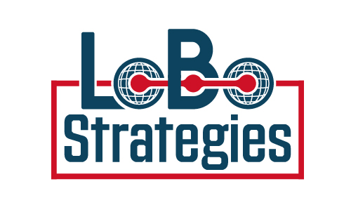 Lobo Strategies Wolf Political World Consulting Federal Government Congress Logo Branding Identity Design Concept 02