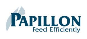 Papillon Feed Efficiently Dairy Industry Logo Branding Corporate Identity Design Original