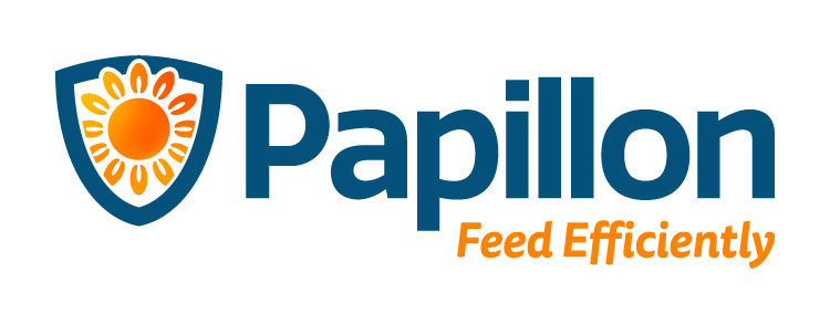 Papillon Feed Efficiently Dairy Industry Logo Branding Corporate Identity Design Concept 06