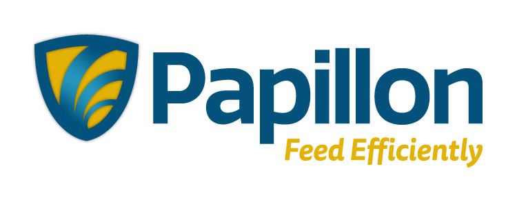 Papillon Feed Efficiently Dairy Industry Logo Branding Corporate Identity Design Concept 04