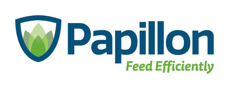 Papillon Feed Efficiently Dairy Industry Logo Branding Corporate Identity Design Concept 03