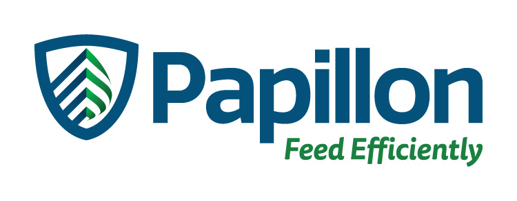 Papillon Feed Efficiently Dairy Industry Logo Branding Corporate Identity Design Concept 01