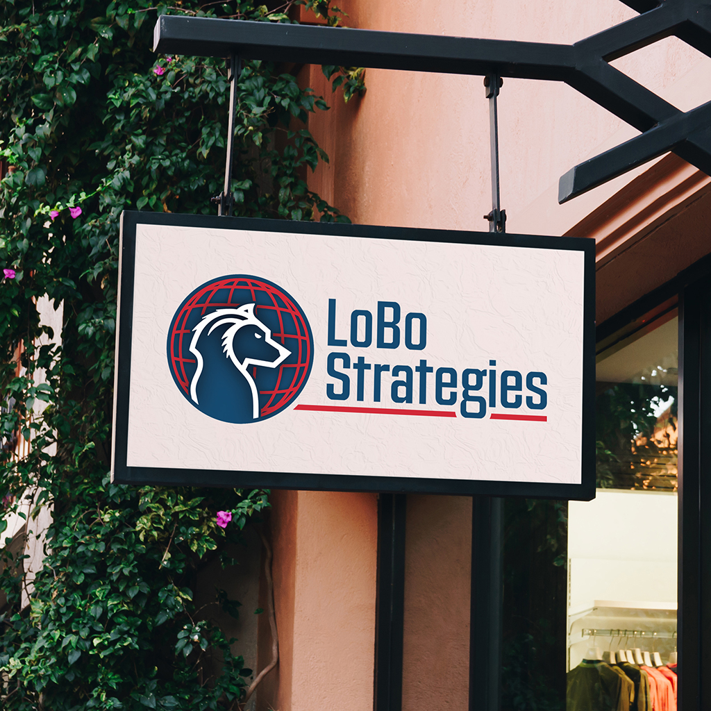Lobo Strategies Logo Branding Design Cover Image