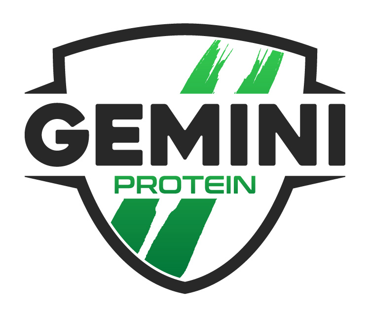Gemini Proteins Dairy Industry Logo Branding Corporate Identity Design Concept 04