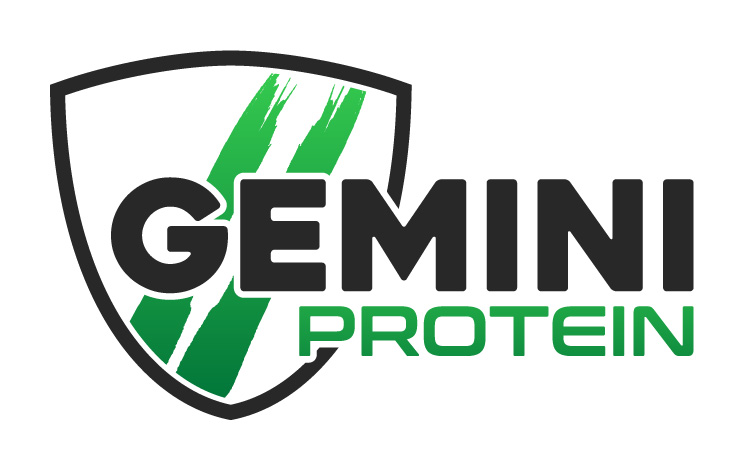 Gemini Proteins Dairy Industry Logo Branding Corporate Identity Design Concept 02