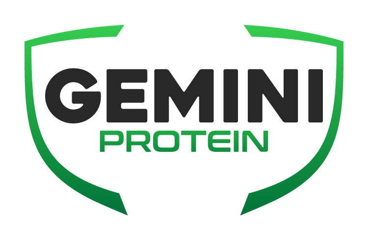 Gemini Proteins Dairy Industry Logo Branding Corporate Identity Design Concept 01