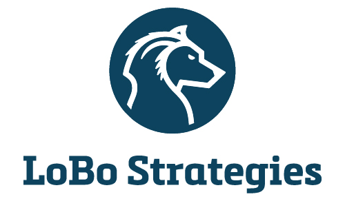 Lobo Strategies Wolf Political World Consulting Federal Government Congress Logo Branding Identity Design Concept 06