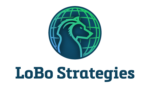 Lobo Strategies Wolf Political World Consulting Federal Government Congress Logo Branding Identity Design Concept 04