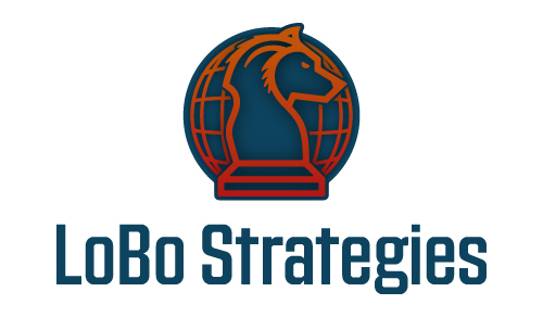Lobo Strategies Wolf Political World Consulting Federal Government Congress Logo Branding Identity Design Concept 03