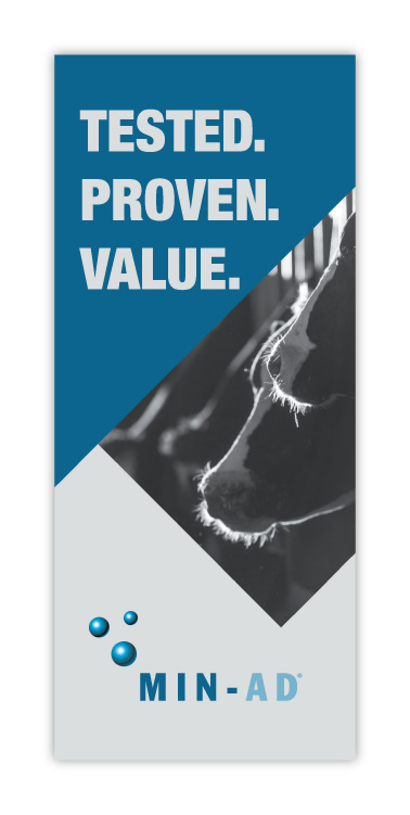 Papillon Feed Efficiently Dairy Industry Min-Ad Brochure Print Design Cover