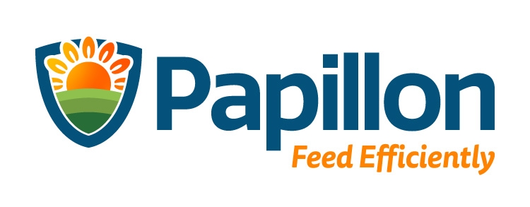 Papillon Feed Efficiently Dairy Industry Logo Branding Corporate Identity Design Concept 05