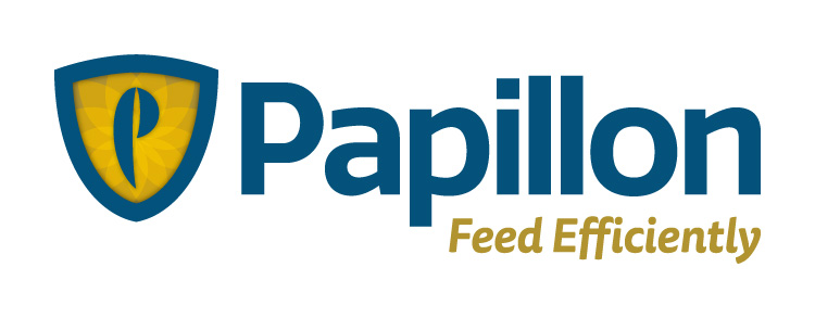 Papillon Feed Efficiently Dairy Industry Logo Branding Corporate Identity Design Concept 02