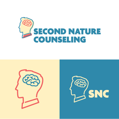 Second Nature Counseling Identity Recovery Wellness Substance Abuse Counselor Logo Branding Identity Design Concept 06