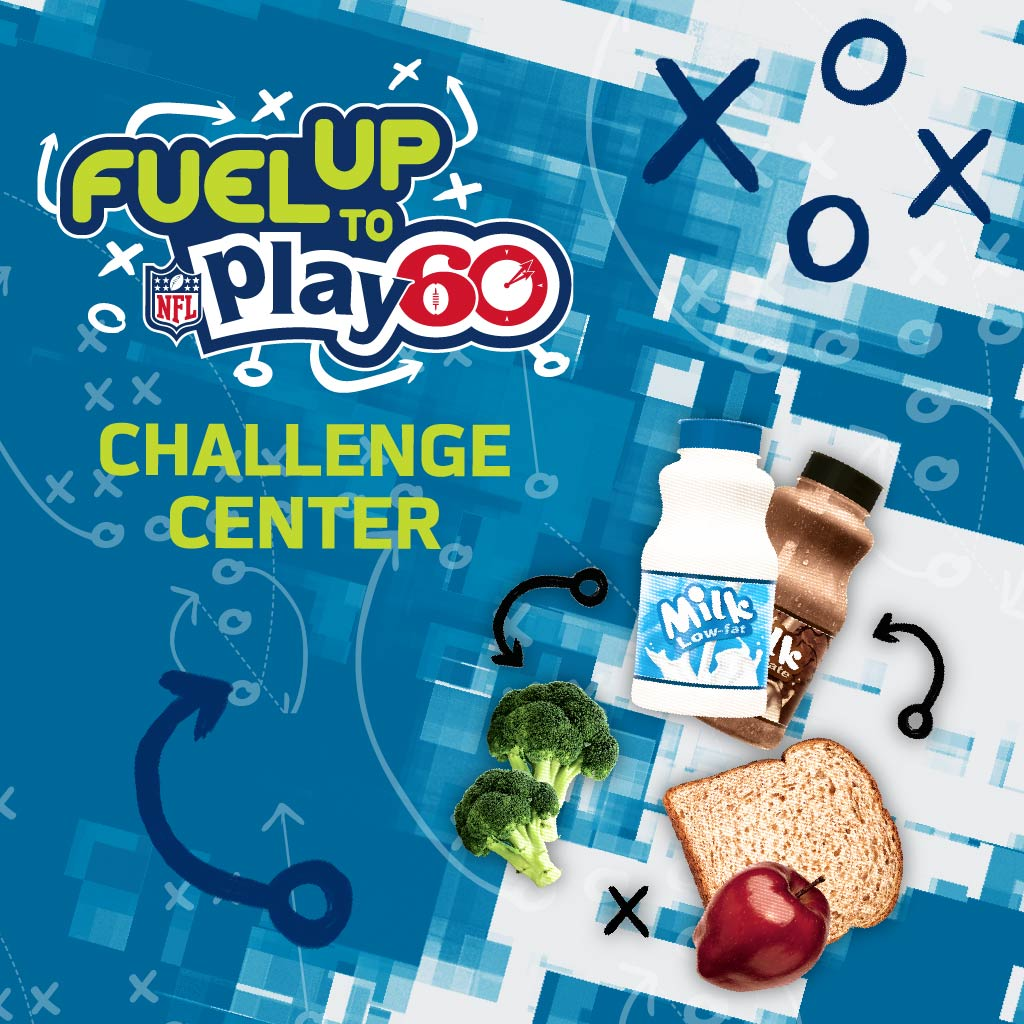 American Dairy Association Fuel Up to Play 60 Challenge Center Campaign Cover Image